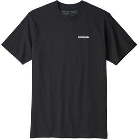 Patagonia P-6 Logo Shortsleeve Shirt Men black